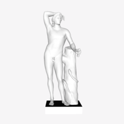 Download free STL file The Apollo Lyceus at The Louvre, Paris • Object to 3D print, Louvre