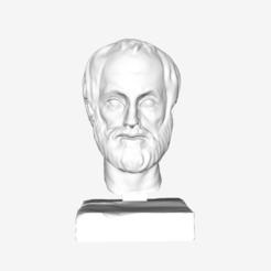 Free STL file Aristotle at The Louvre, Paris, Louvre