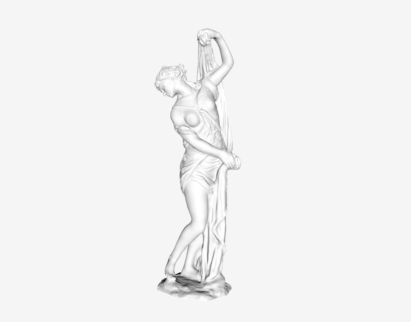 Capture d'écran 2018-09-21 à 15.28.45.png Download free STL file The Venus Callipyge at The Louvre, Paris • 3D printer design, Louvre