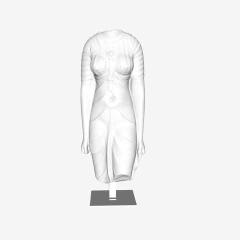 Download free 3D printer templates Deity at the Louvre, Lens, France, Louvre