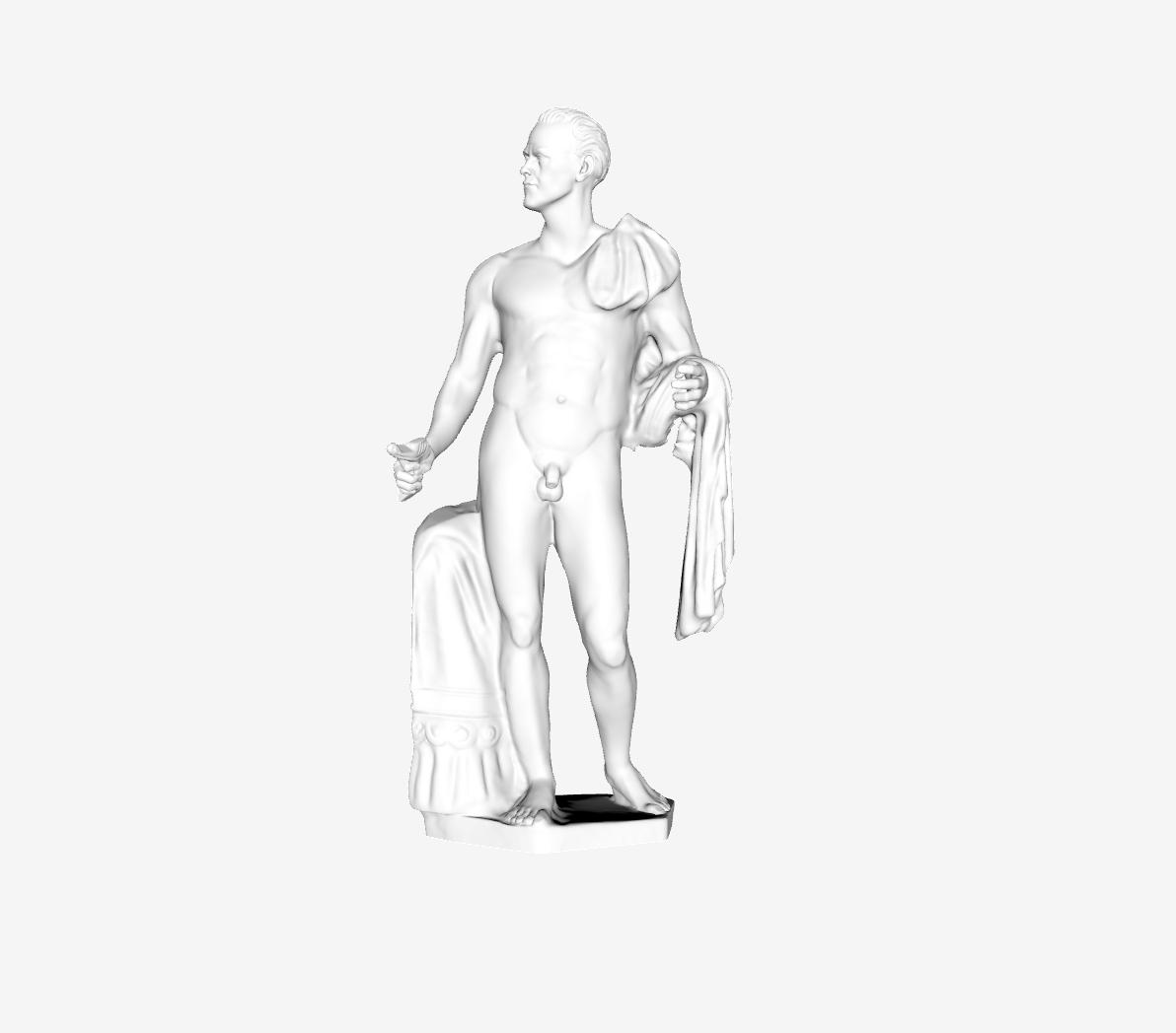 Capture d'écran 2018-09-21 à 18.19.27.png Download free STL file Julius Caesar Borghese at The Louvre, Paris • 3D printable design, Louvre