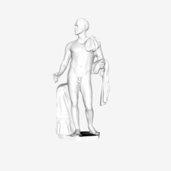 Download free 3D printing models Julius Caesar Borghese at The Louvre, Paris, Louvre