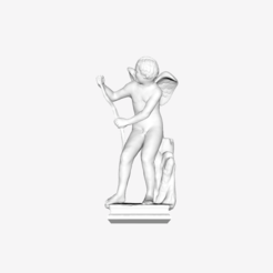 Download free 3D printing templates Eros archers at the Louvre, Paris, France, Louvre