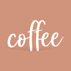 Descargar archivo 3D gratis Signo de café, avenidamateo
