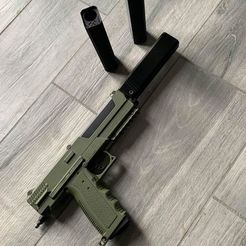 Download 3D print files Paintball fake Suppressor Suppressor False Silencer tippmann TIPX TPX, AlexStarkh