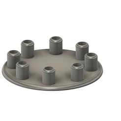120535322_374392910414275_7575151494177741023_n - Copie.jpg Download STL file paintball Barrel Support Cannon support Cannon paintball displays • 3D printer template, AlexStarkh