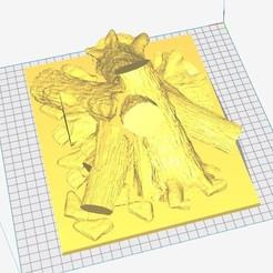 tronchos chimenea 2.jpg Télécharger fichier GCODE bûches brasse cheminée • Plan pour impression 3D, metrald1