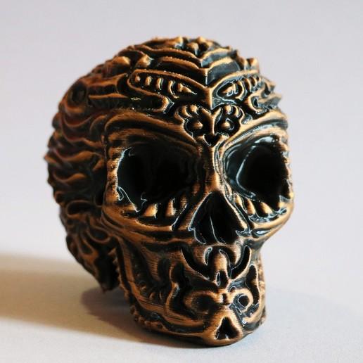 Descargar modelos 3D Calavera tótem - Tótem de grúa, pacificateur