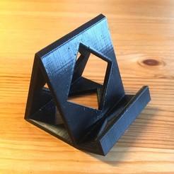 Télécharger fichier STL gratuit Support smartphone • Objet imprimable en 3D, pacificateur
