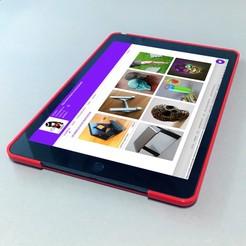 ipad-case-1.jpg Télécharger fichier STL gratuit case ipad 2019 (7e gén.) • Modèle imprimable en 3D, pacificateur