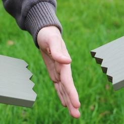 1.jpg Télécharger fichier STL gratuit Planche de karaté • Modèle à imprimer en 3D, pacificateur