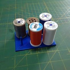 IMG_0553.JPG Download free STL file Thread holder • 3D print template, Scorpa54