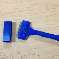 Free 3D print files Razor scraper, Scorpa54