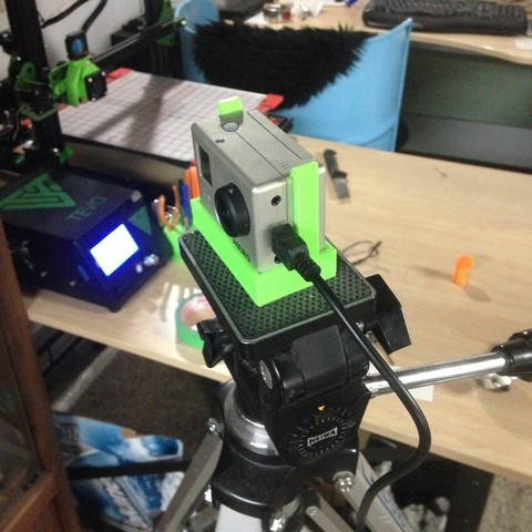 Download free 3D printing models GoPro tripod mount, Scorpa54