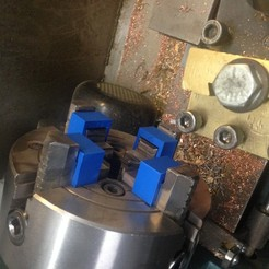 Download free STL file Lathe chuck shim, Scorpa54