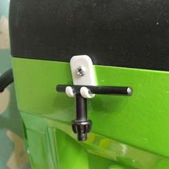 DSCF8388.JPG Download free STL file Chuck Key holder for Sonic mini drill press • Design to 3D print, aussiemuscle308