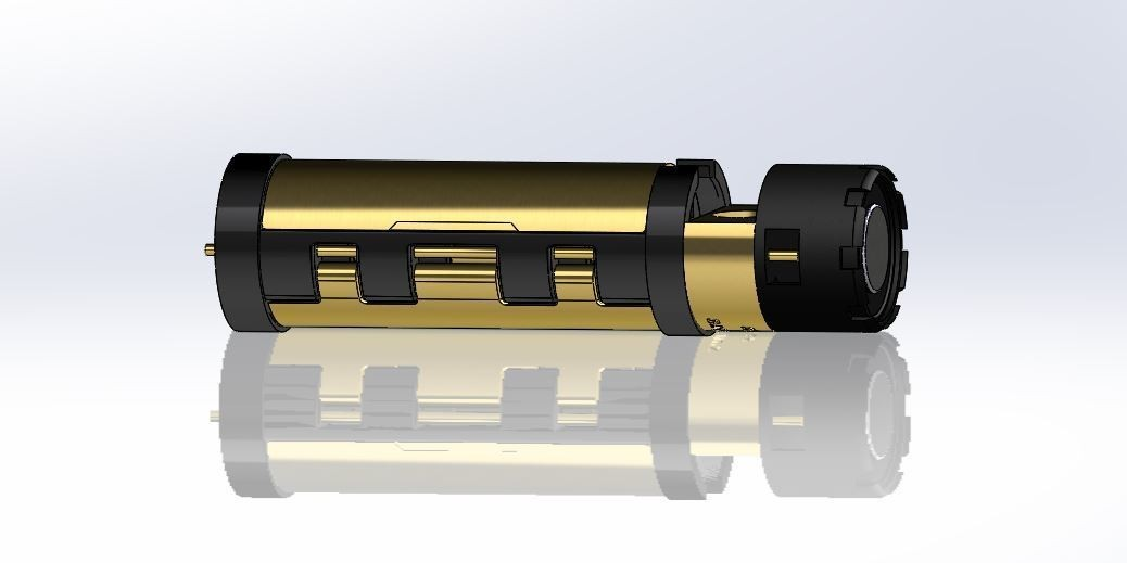 chassis 32mm.JPG Download free STL file OPEN SOURCE SABERS COMMUNITY CHASSIS - 32MM -18650 • 3D printable model, Kaleinsabers