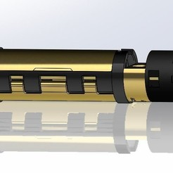 chassis 32mm.JPG Download free STL file OPEN SOURCE SABERS COMMUNITY CHASSIS - 32MM - 21700 • 3D print design, Kaleinsabers