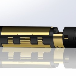 Descargar Modelos 3D para imprimir gratis Chasis comunitario Sabers de código abierto - 30mm, Kaleinsabers