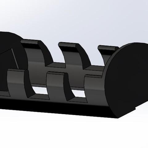 Capture.JPG Download free STL file 21700 Battery Holder - 28mm*81mm • Design to 3D print, Kaleinsabers