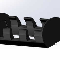 plan 3d gratuit  21700 Battery Holder - 28mm*81mm, Kaleinsabers