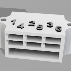 Download free STL file servo connector block for TRX4 TRAXXAS (or other), patcha