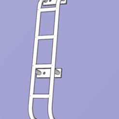 Descargar modelos 3D gratis escalera de galería del defensor TRX4, patcha