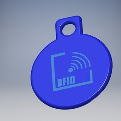 Free 3d printer files RFID key holder, Ericdu62