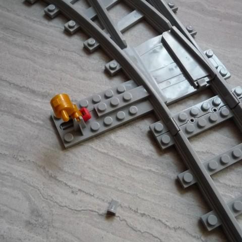 Download free 3D printer templates lego rail repair 1 ・ Cults