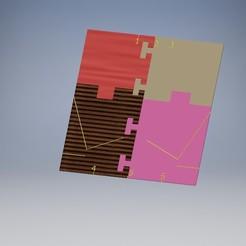 Descargar modelos 3D gratis covid19 plantilla para doblar la máscara, Ericdu62