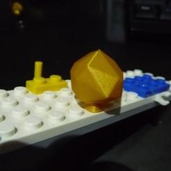 Télécharger plan imprimante 3D gatuit SAV lego pierre précieuse, Ericdu62