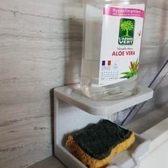 3D print files sponge holder + product, Ericdu62