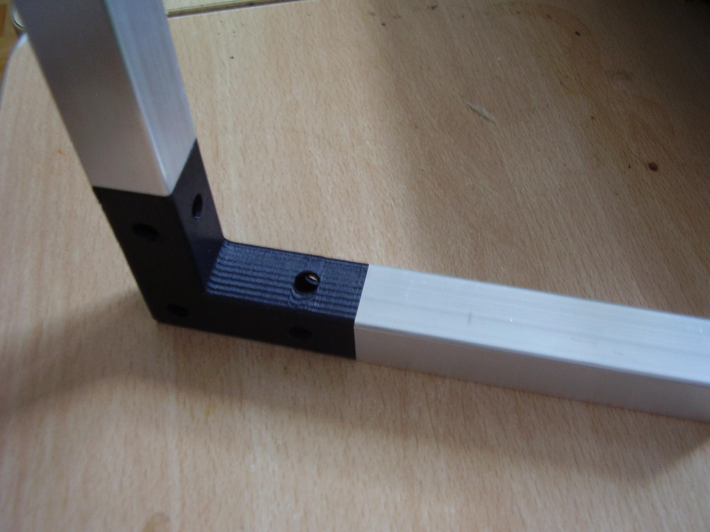 P1010119.JPG Télécharger fichier STL gratuit Angle de raccordement pour serre • Objet imprimable en 3D, mysmartgreenhouse