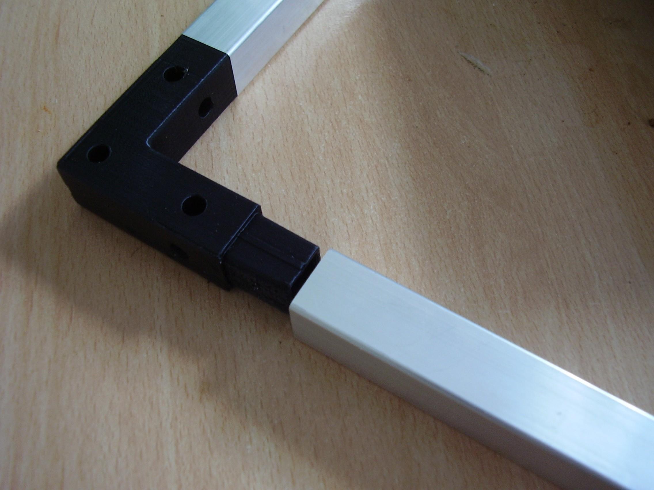 P1010121.JPG Télécharger fichier STL gratuit Angle de raccordement pour serre • Objet imprimable en 3D, mysmartgreenhouse