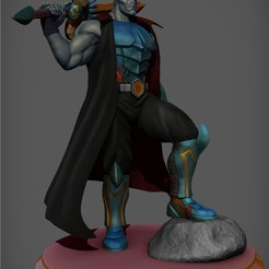 3D print files Daruggis 1/8 scale, elric91