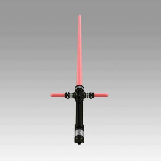 9.jpg Download OBJ file Star Wars VII The Force Awakens Kylo Ren Sword Cosplay Prop • 3D printer object, Blackeveryday