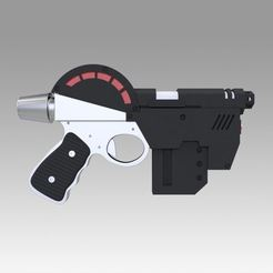 Download 3D printing models Lawgiver Judge Dredd Pistol, Blackeveryday