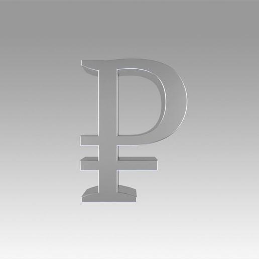 Descargar modelos 3D para imprimir Rublo, Blackeveryday