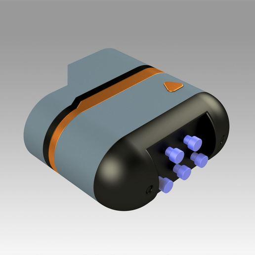 4.jpg Download OBJ file Star Trek Prop Dr Phlox Scanner replica prop cosplay • 3D printer object, Blackeveryday