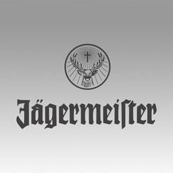 Download 3D printer designs Jagermeister logo, Blackeveryday