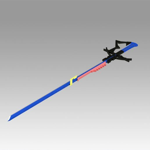 6.jpg Download OBJ file Arknights Astesia Epoque Sword Cosplay Weapon Prop  • 3D printable template, Blackeveryday