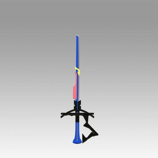 9.jpg Download OBJ file Arknights Astesia Epoque Sword Cosplay Weapon Prop  • 3D printable template, Blackeveryday