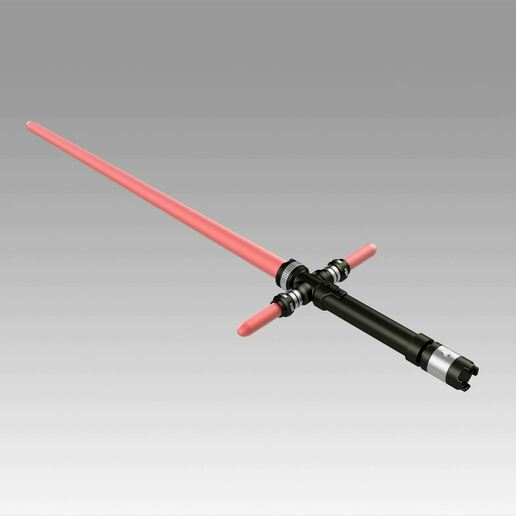 8.jpg Download OBJ file Star Wars VII The Force Awakens Kylo Ren Sword Cosplay Prop • 3D printer object, Blackeveryday