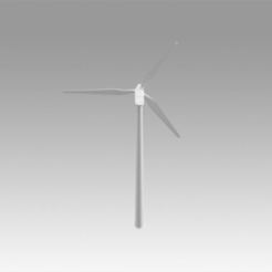 3D printing model Wind turbine, Blackeveryday