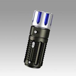 1.jpg Download OBJ file Star Trek Discovery scanner cosplay prop replica • Template to 3D print, Blackeveryday