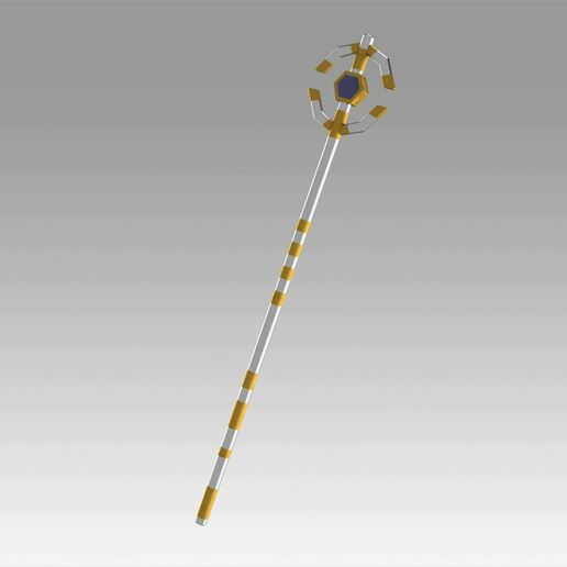 1.jpg Download OBJ file World of Warcraft WOW Mage Staves Cosplay Weapon Prop • 3D printing model, Blackeveryday