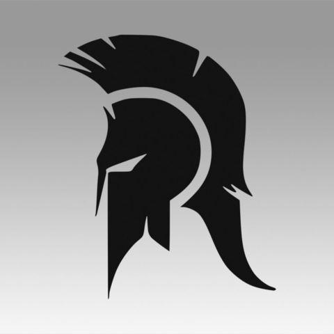 Download 3D printer files Spartan logo, Blackeveryday