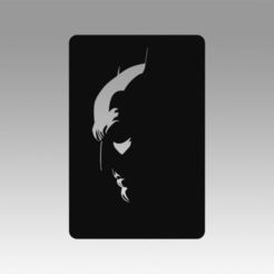 Télécharger plan imprimante 3D LOGO BATMAN, Blackeveryday