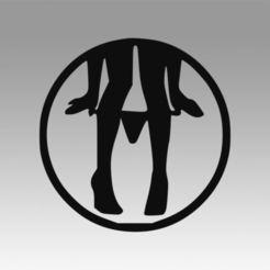 Download 3D printer designs Girl logo, Blackeveryday