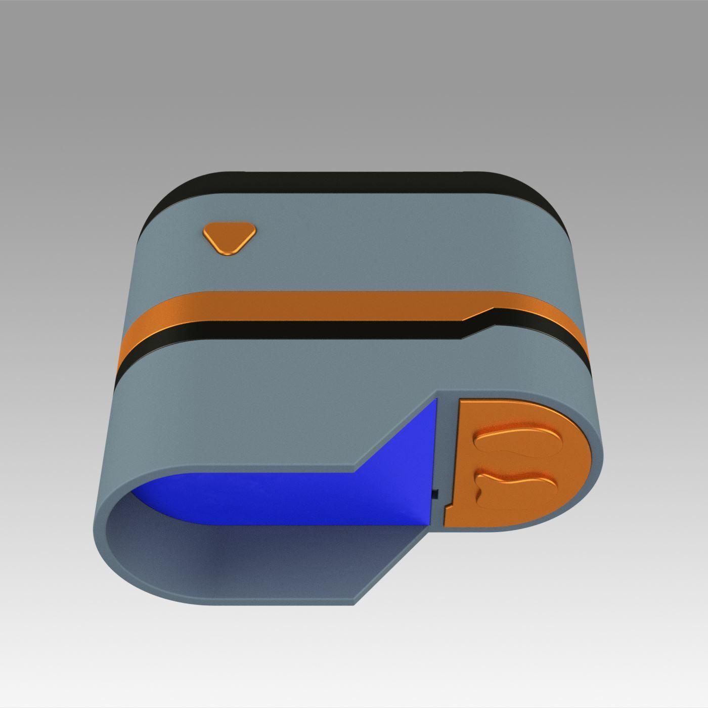 9.jpg Download OBJ file Star Trek Prop Dr Phlox Scanner replica prop cosplay • 3D printer object, Blackeveryday